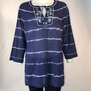 Tommy Bahama Tunic - Batik blue